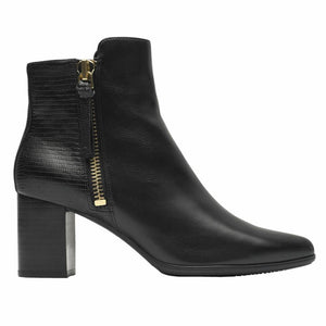 Rockport Women TOTAL MOTION LYNIX BOOTIE BLACK