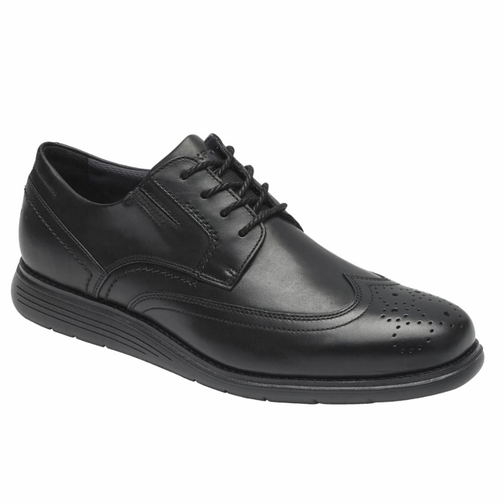Rockport Men TOTAL MOTION SPORT DRESS WING TIP BLACK