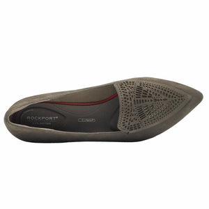 Rockport Women TOTAL MOTION ADELYN LASER LOAFER WARM IRON