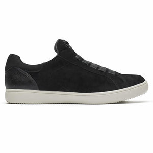 Rockport Women CITY LITE ARIELL LACEUP BLACK/SUEDE