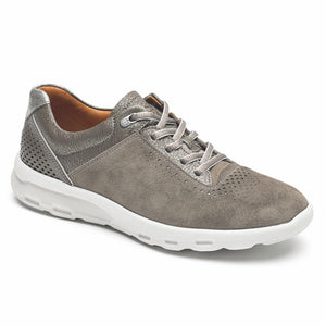Rockport Women LETS WALK UBAL WARM IRON/NUBUCK