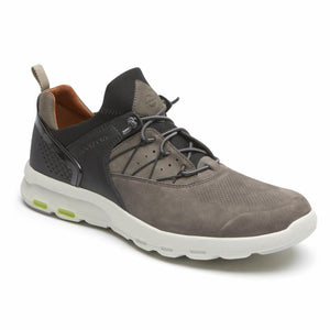 Rockport Men LETS WALK M BUNGEE DARK OLIVE/NUBUCK
