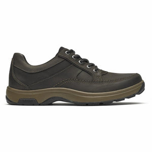 Dunham 8000 MIDLAND LACE UP BROWN/NUBUCK