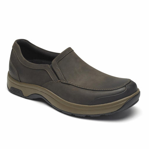 Dunham 8000 BATTERY PARK SLIP-ON BROWN/NUBUCK