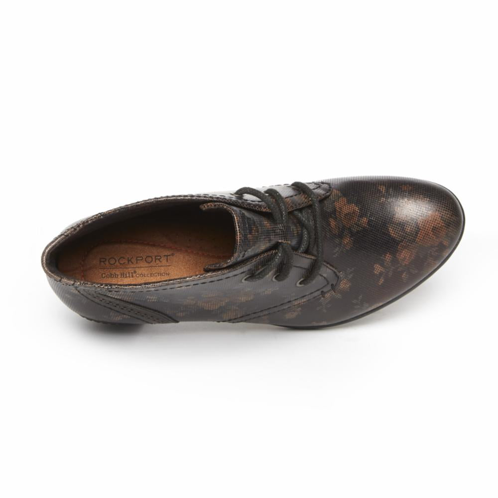 Cobb Hill RASHEL CHUKKA BROWN FLORAL