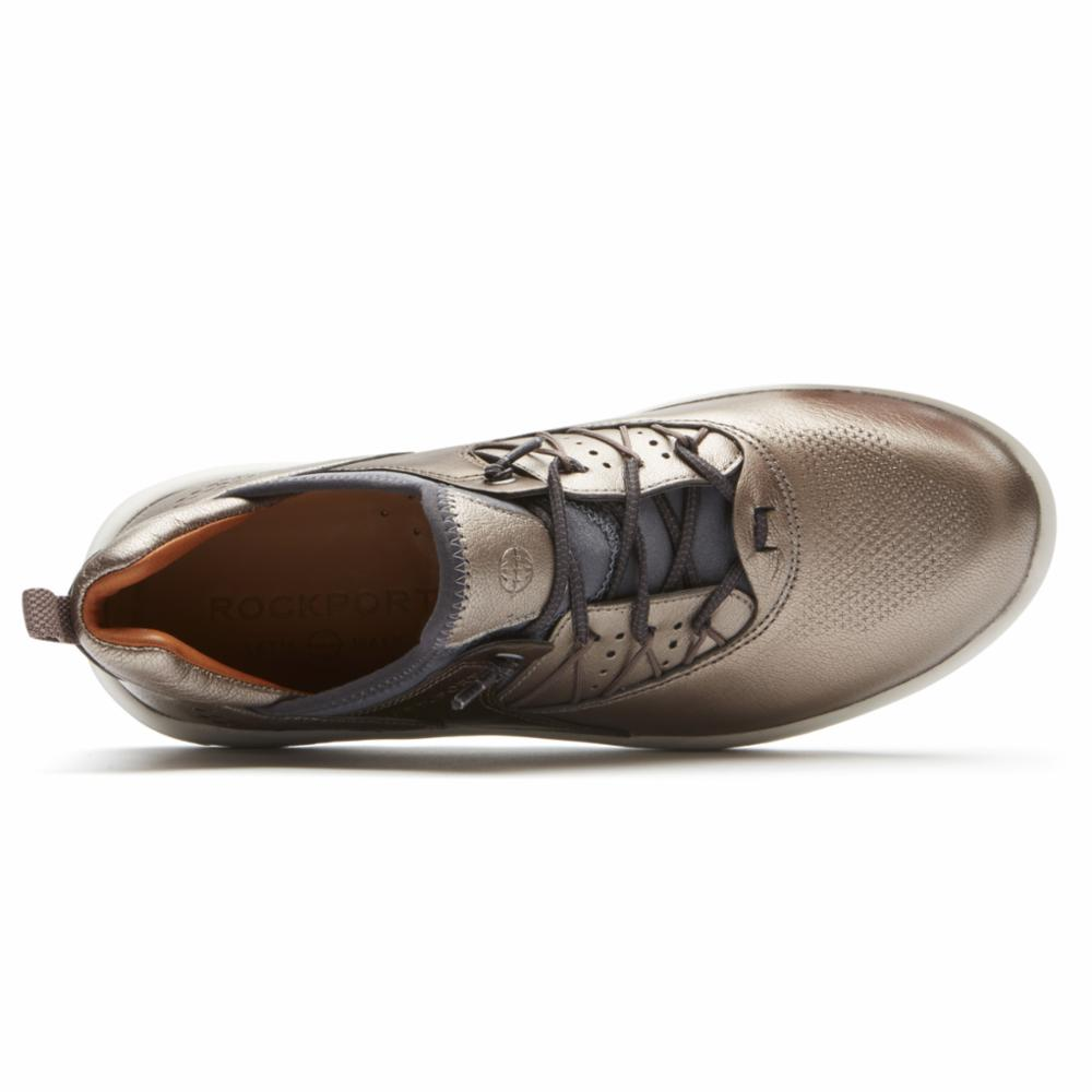 Rockport Women LETS WALK BUNGEE METALLIC