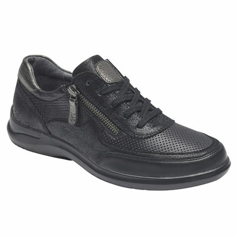 Aravon POWER COMFORT TIE BLACK