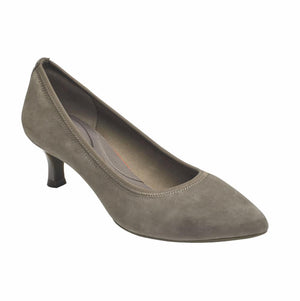Rockport Women TOTAL MOTION KAIYA PUMP WARM IRON/SUEDE