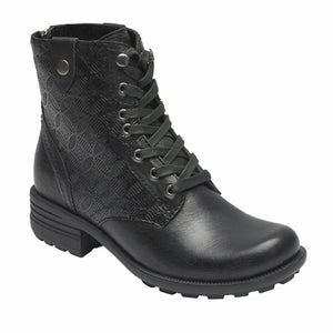 Cobb Hill BRUNSWICK LACE BT BLACK/LEATHER