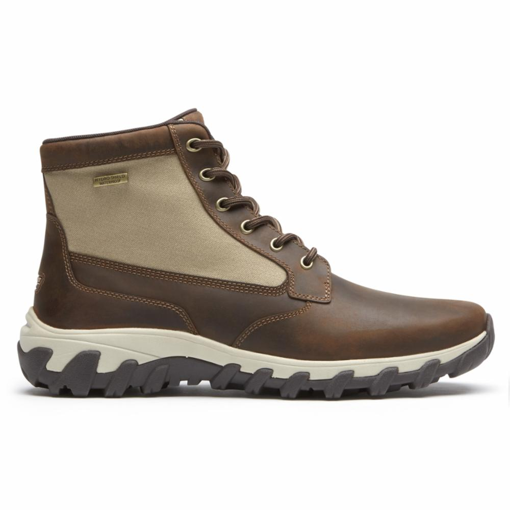 Rockport Men COLD SPRINGS PLUS MID BOOT TAN