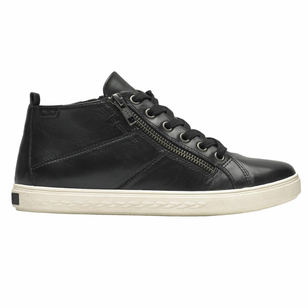 Cobb Hill WILLA HIGH TOP BLACK/LEATHER