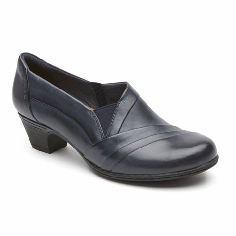 Cobb Hill ABBOTT SLIPON NAVY/LEATHER