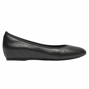 Rockport Women TOTAL MOTION HW20 PERF BALLET BLACK/NAPPA