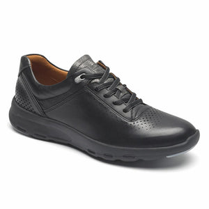 Rockport Women LETS WALK UBAL BLACK/LEATHER