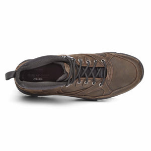 Rockport Men WERE ROCKIN CHUKKA BURNT EARTH/LEATHER