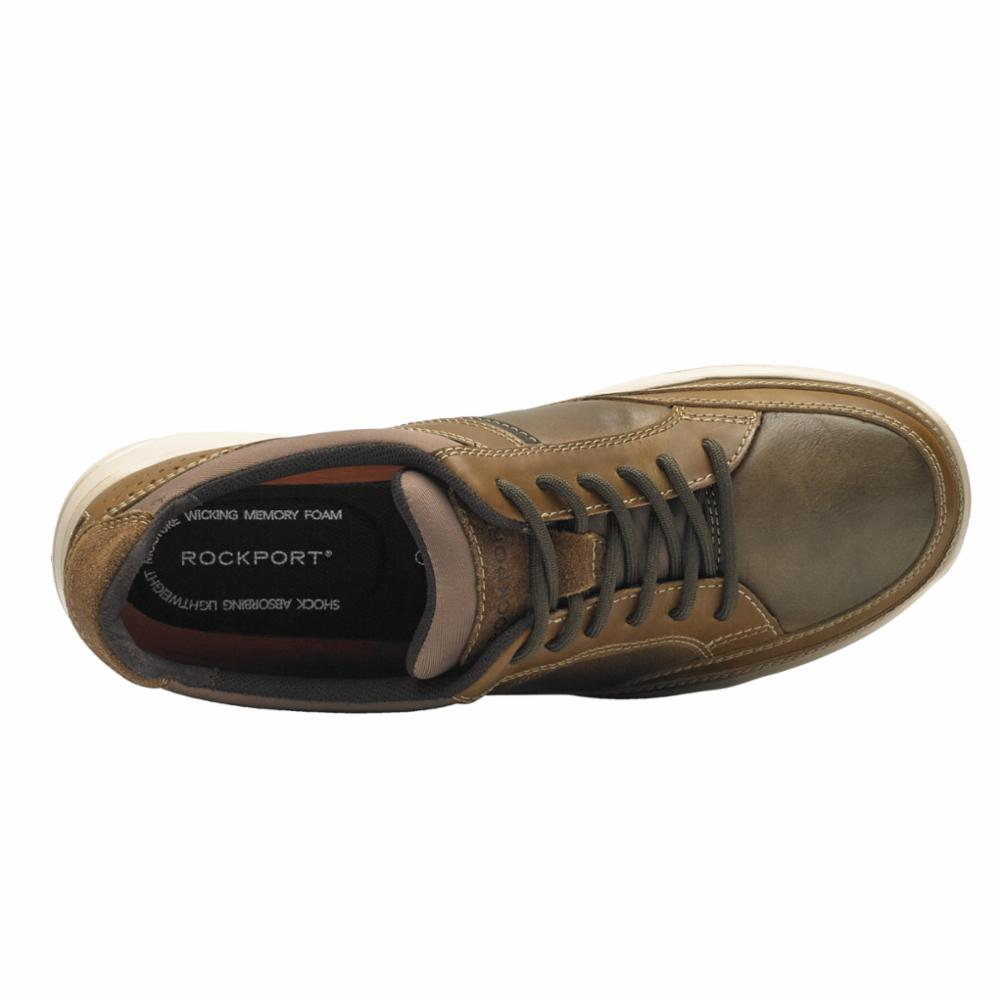 Rockport Men WELKER CASUAL LACEUP TAN