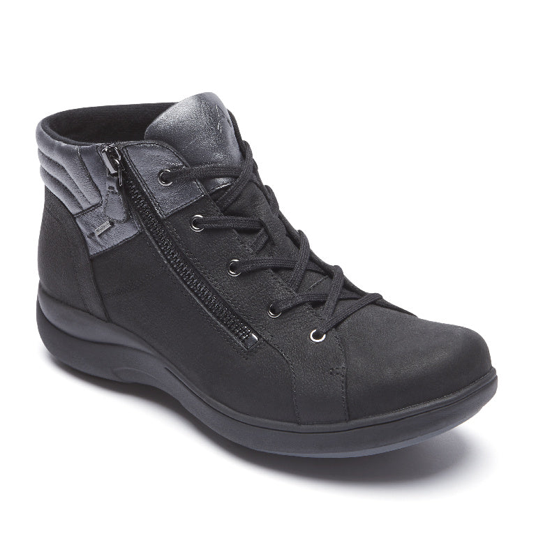 Aravon REV STRIDARC WATERPROOF LOW BOOT BLACK