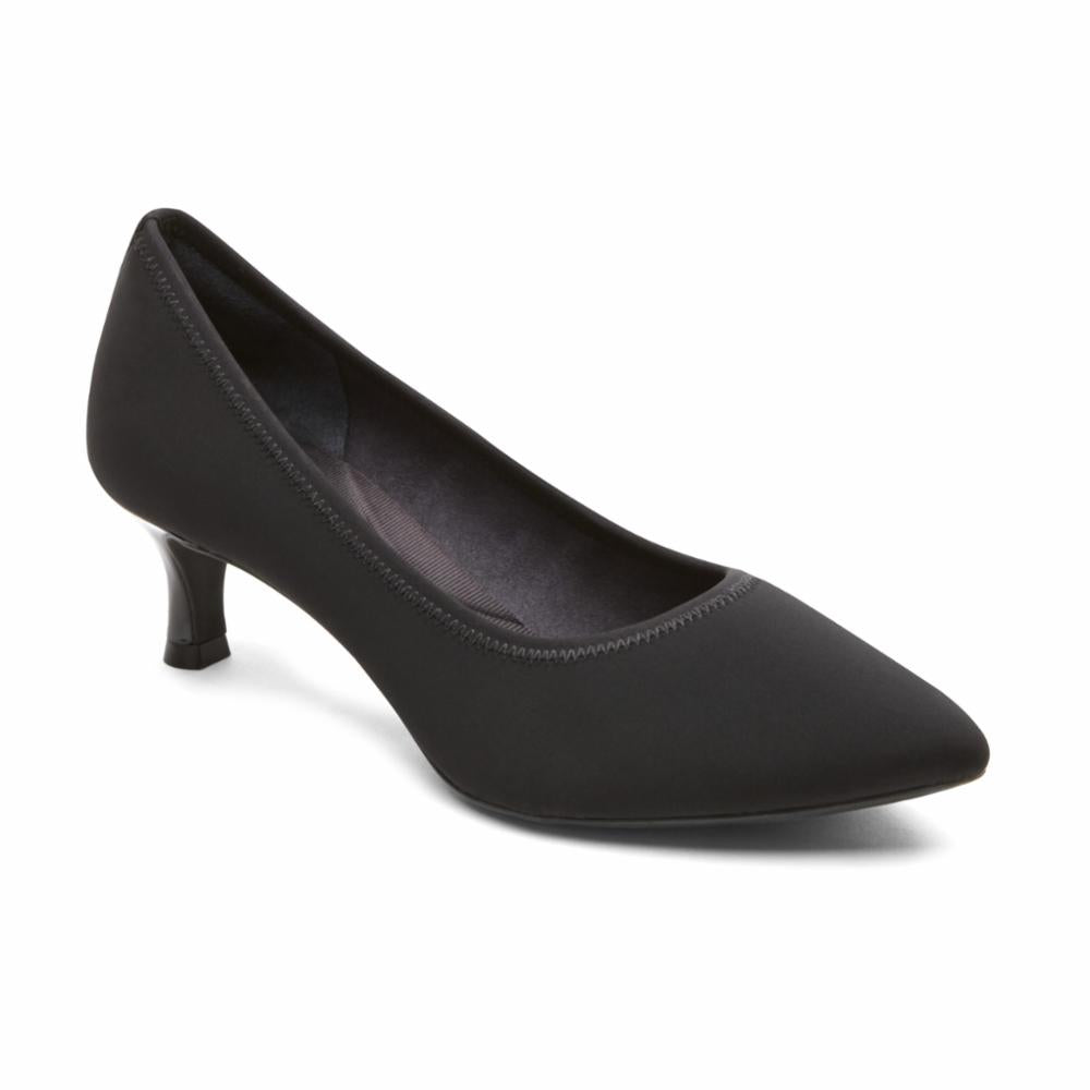 Rockport Women TOTAL MOTION KAIYA PUMP BLACK/ELASTIC