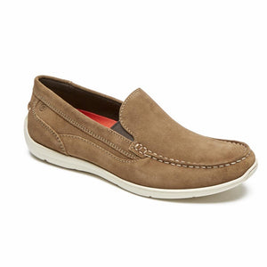 Rockport Men CULLEN VENETIAN NEW VICUNA/SUEDE