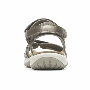 Cobb Hill FRANKLIN THREE STRAP TAUPE/METALLIC LEATHER