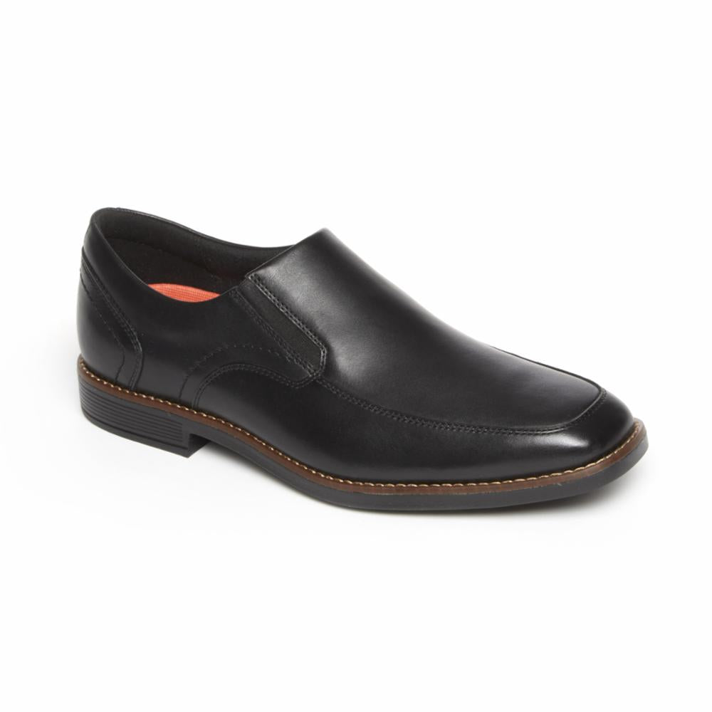 Rockport Men SLAYTER SLIPON BLACK 2