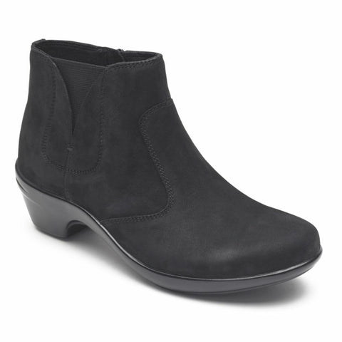 Aravon KITT BOOTIE BLACK/LEATHER