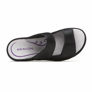 Aravon CAMBRIDGE 2 STRAP BLACK