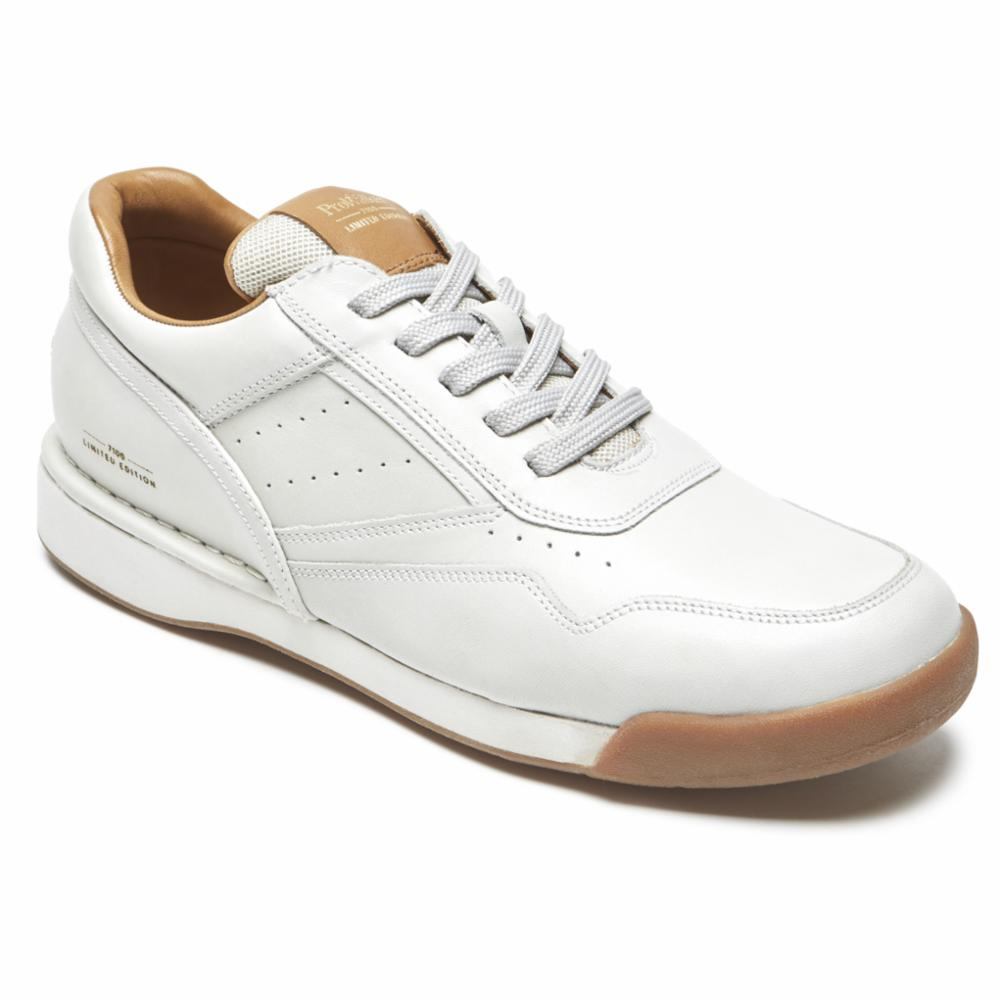 Rockport Men WALKING CLASSIC LTD 7100 LTD M SPORT WHITE/LEATHER