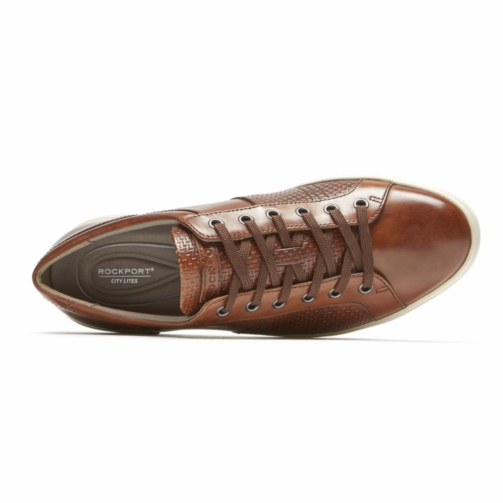 Rockport Men CL COLLE TIE TAN/SMOOTH