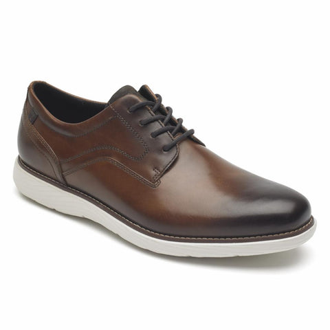 Rockport Men GARETT PLAIN TOE COGNAC