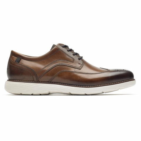 Rockport Men GARETT WING TIP COGNAC