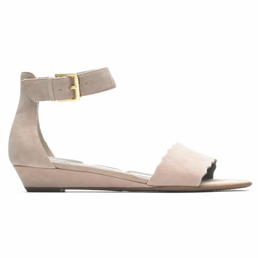 Rockport Women TOTAL MOTION ZANDRA CURVE ANK MAUVY