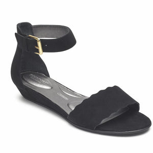 Rockport Women TOTAL MOTION ZANDRA CURVE ANK BLACK