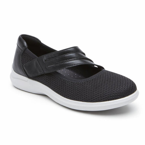 Aravon POWER COMFORT MARYJANE BLACK/KNIT