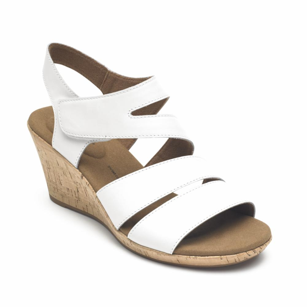 Rockport Women BRIAH ASYM WHITE