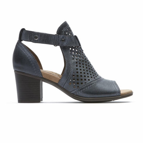 Cobb Hill HATTIE HI CUFF SANDAL BLACK HAZE