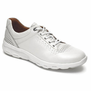 Rockport Women LETS WALK UBAL PEARL WHITE