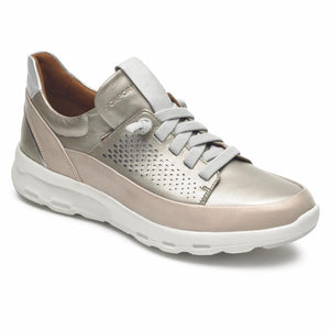 Rockport Women LETS WALK SLIP-ON DOVE/ROSE