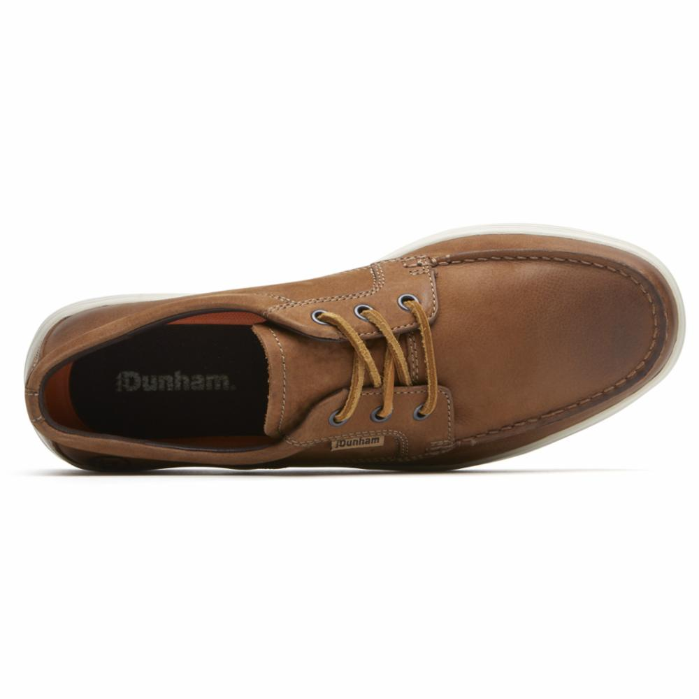 Dunham COLCHESTER MOC LOW BROWN