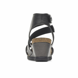 Cobb Hill SHONA ASYM CUFF BLACK/METALLIC