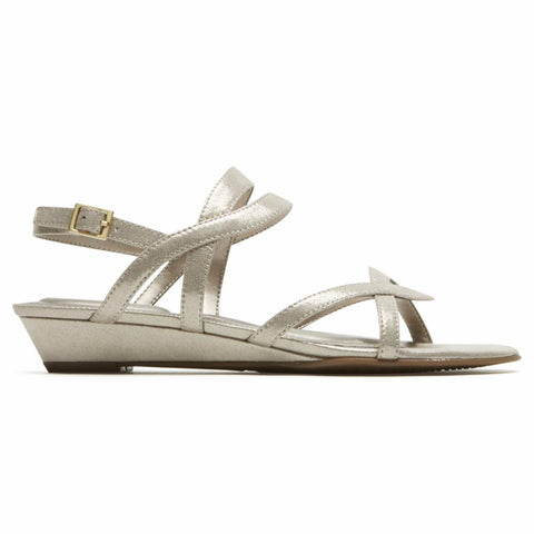Rockport Women TOTAL MOTION ZANDRA SLINGBACK ICE KHAKI