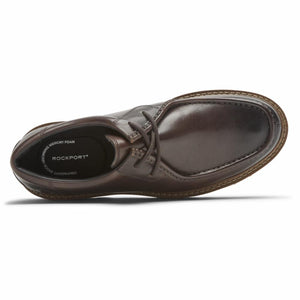 Rockport Men  2 EYE TIE DK BITTER CHOCOLATE/LEATHER