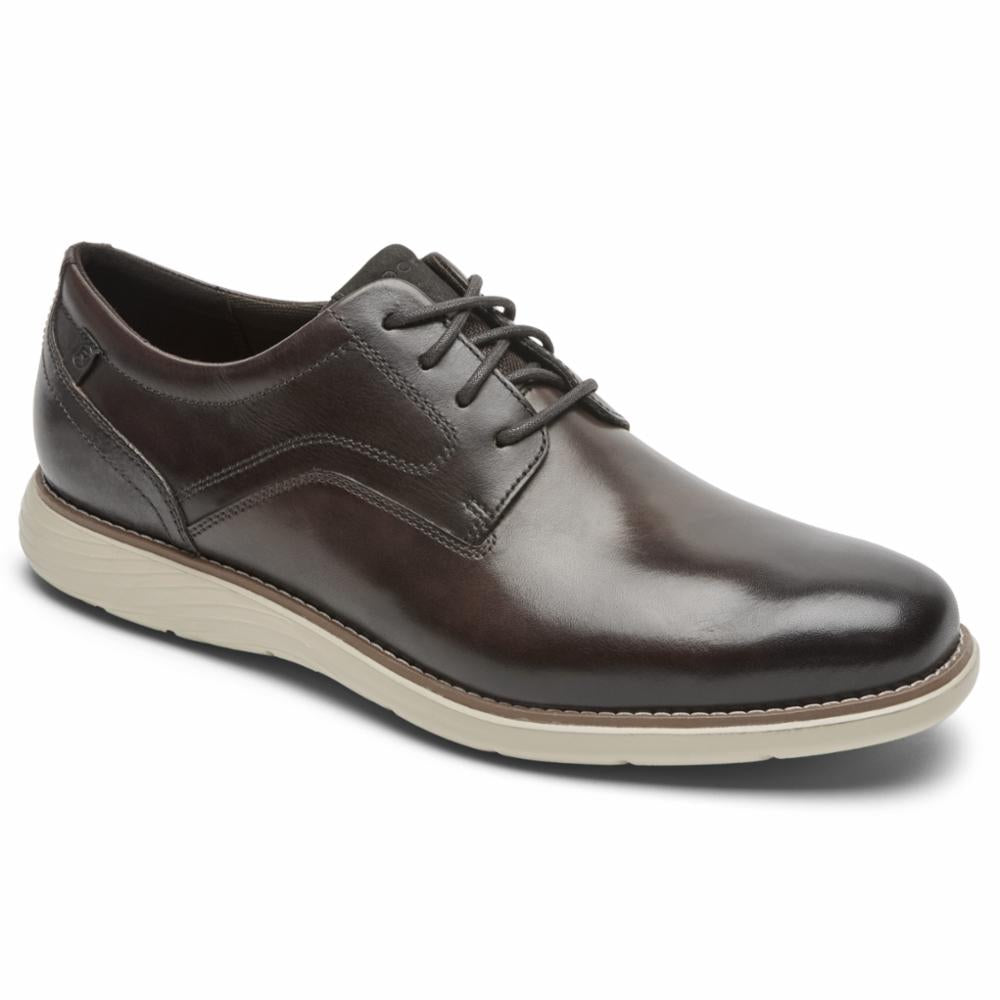 Rockport Men GARETT PLAIN TOE JAVA/GRADIENT