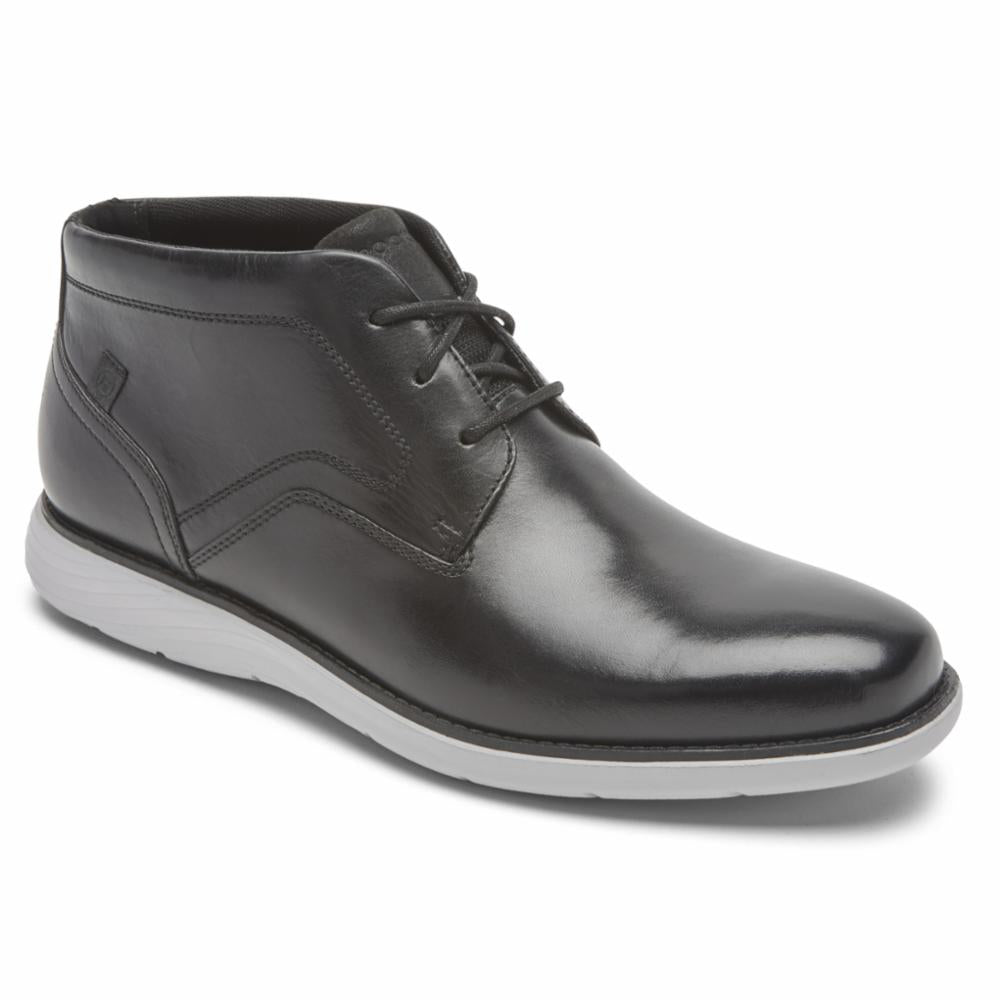 Rockport Men GARETT CHUKKA BLACK