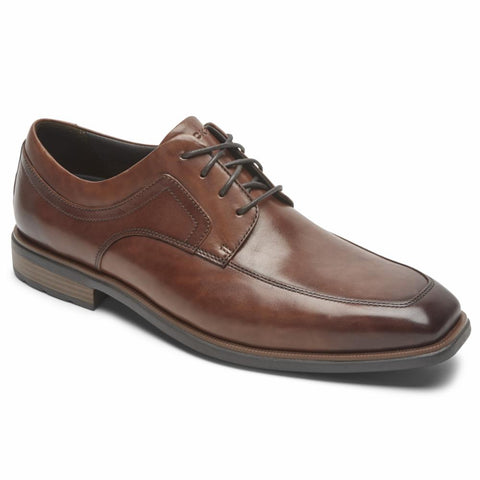 Rockport Men DRESSPORTS BUSINESS 2 APRON TOE COGNAC/ANTIQUE
