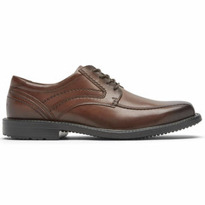 Rockport Men STYLE LEADER 2 BIKE TOE OX NEW BROWN GRADIENT