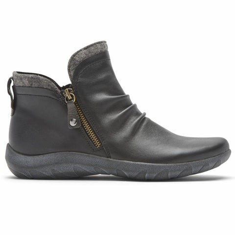 Cobb Hill AMALIE SIDE ZIP BT BLACK