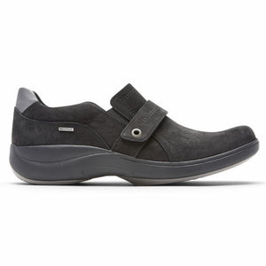 Aravon REV STRIDARC WATERPROOF SLIPON BLACK/NUBUCK