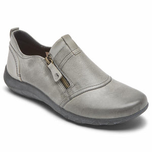 Cobb Hill AMALIE ZIPPER SLIPON GREYISH BLUE