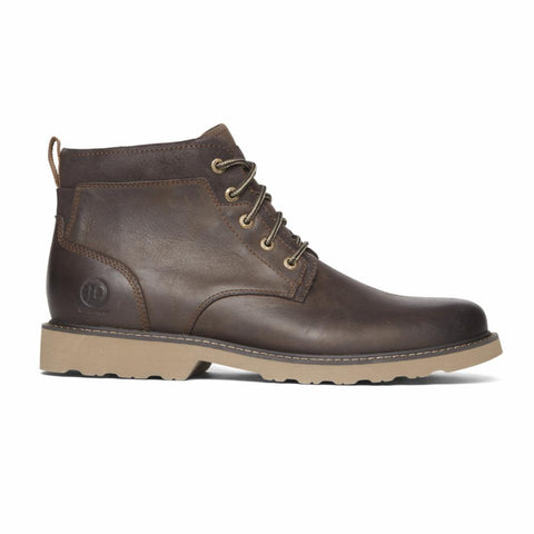 Dunham JAKE PLAIN TOE BOOT DARK BROWN